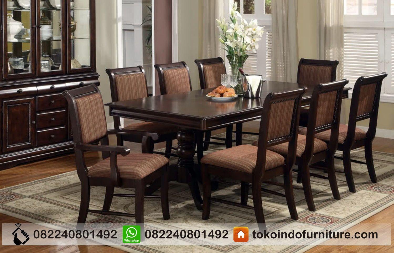 Set Meja Makan Mewah Modern Set Ruang Makan Kursi Makan Set