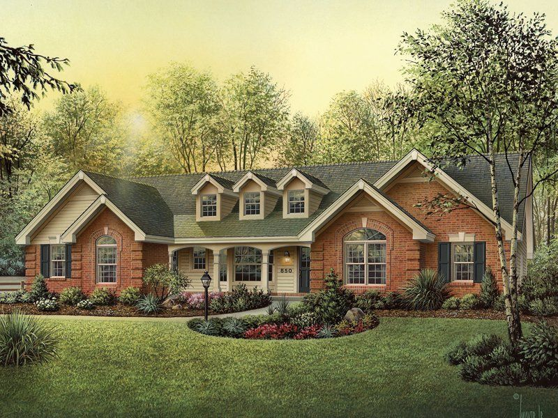 4 Bedroom 3 Bath Country House Plan Alp 09h9 Country Style House Plans Brick Exterior House Traditional House Plans