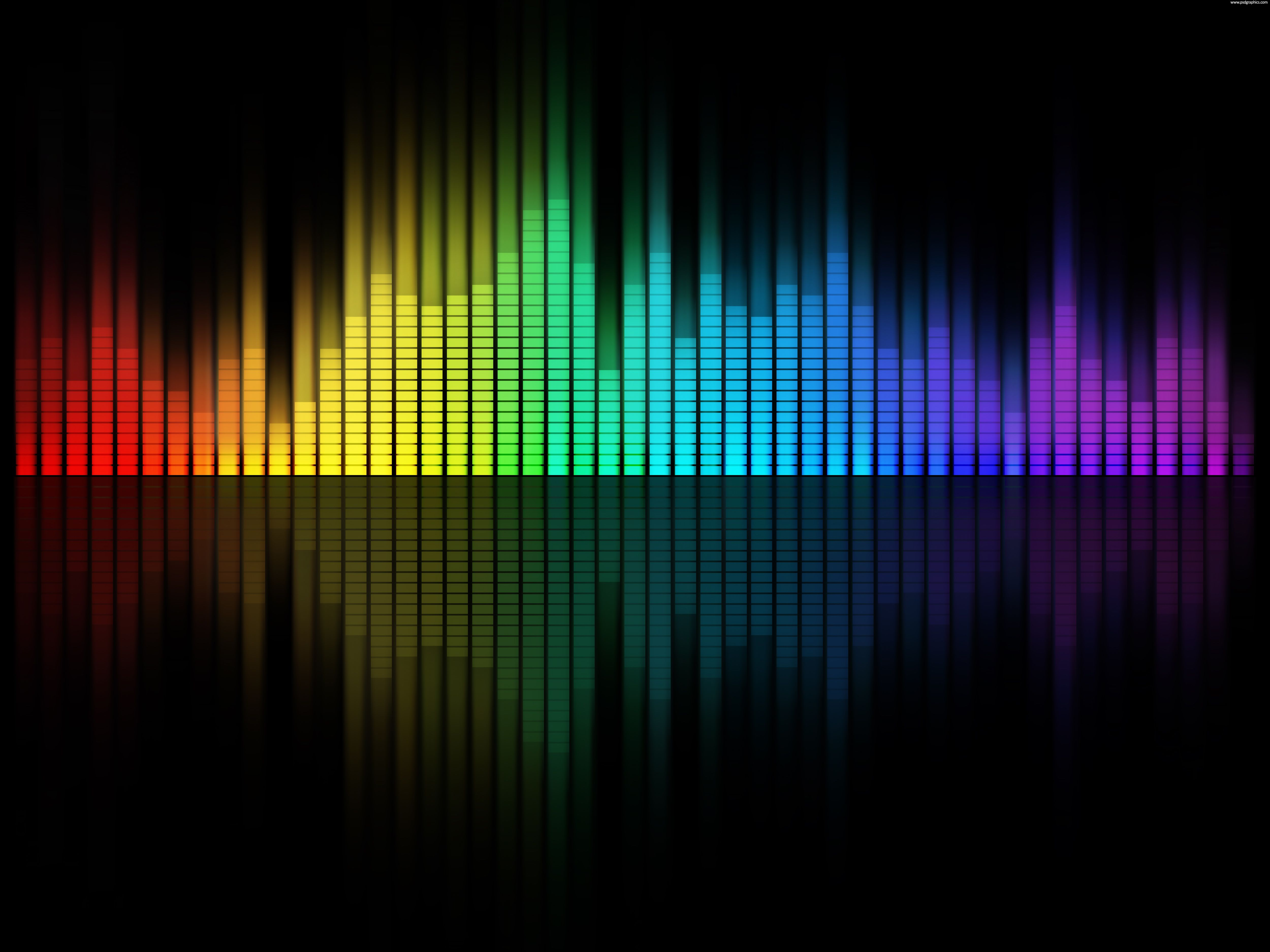 music Music equalizer background Picsart, Planos de