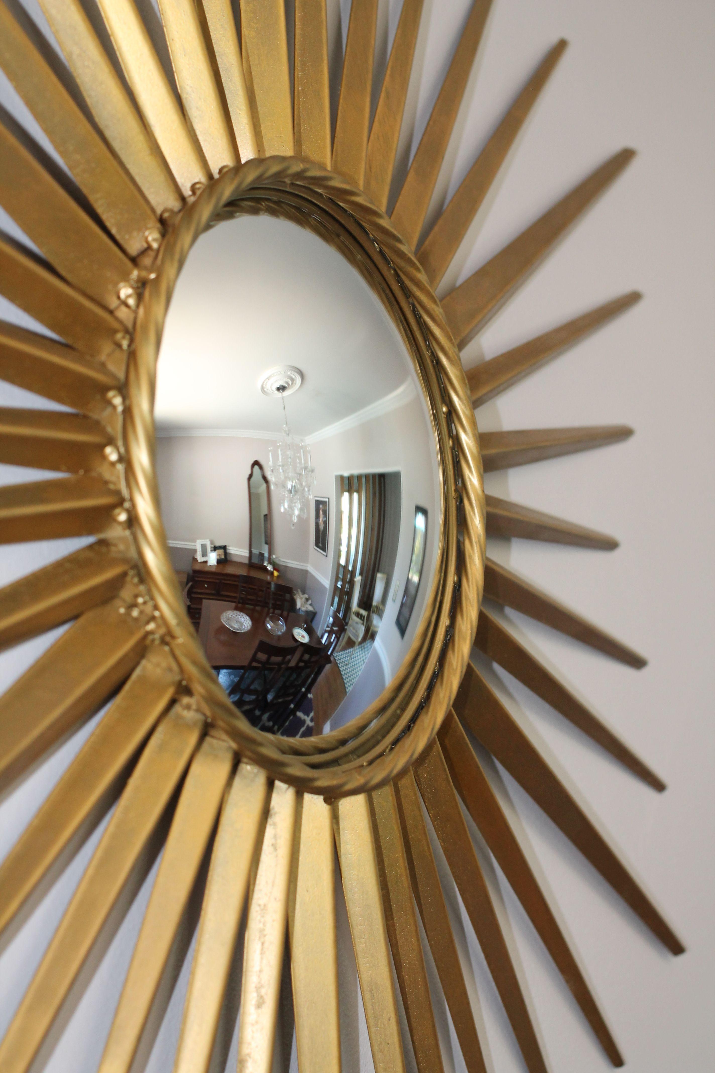 martha stewart home depot sunburst mirror in our dining room wish