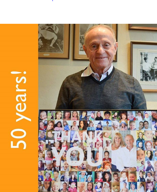 Dr Aron has just completed 50 years of his career in