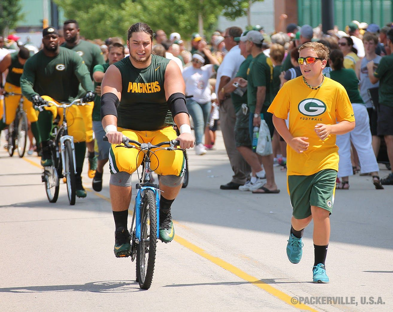 Packer training camp traditions