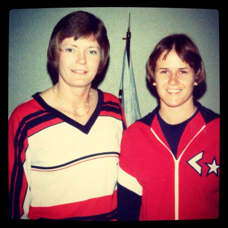 1977 Pat And Holly Womens Basketball University Of Tennessee Basketball Pat Summitt