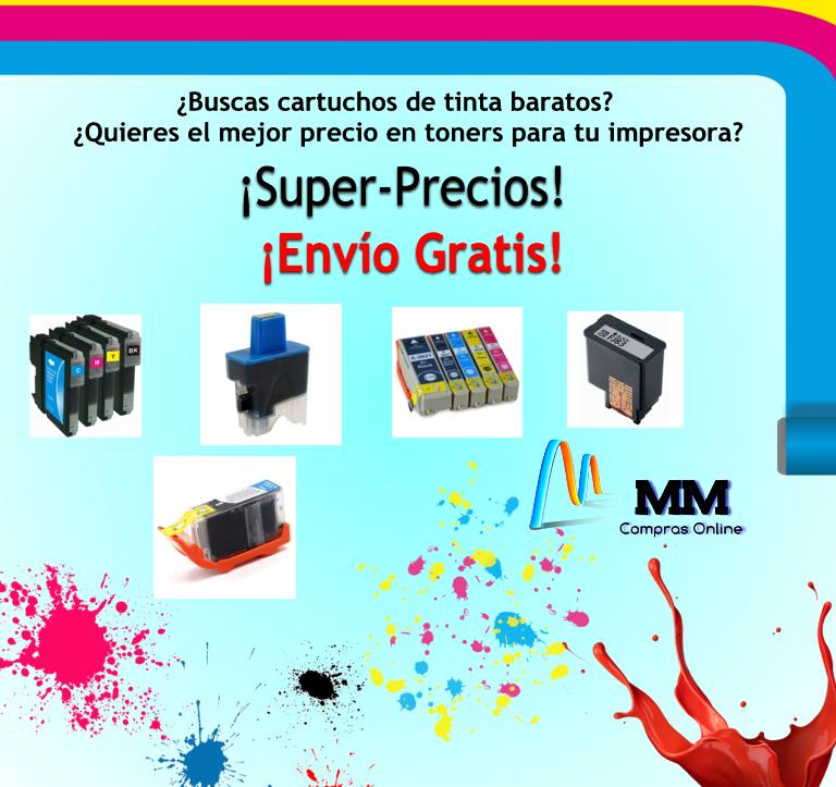 Tintas para tu impresora super baratas, pide presupuesto y compara precios envíos gratis a toda España (Península) marketmistral@gmail.com