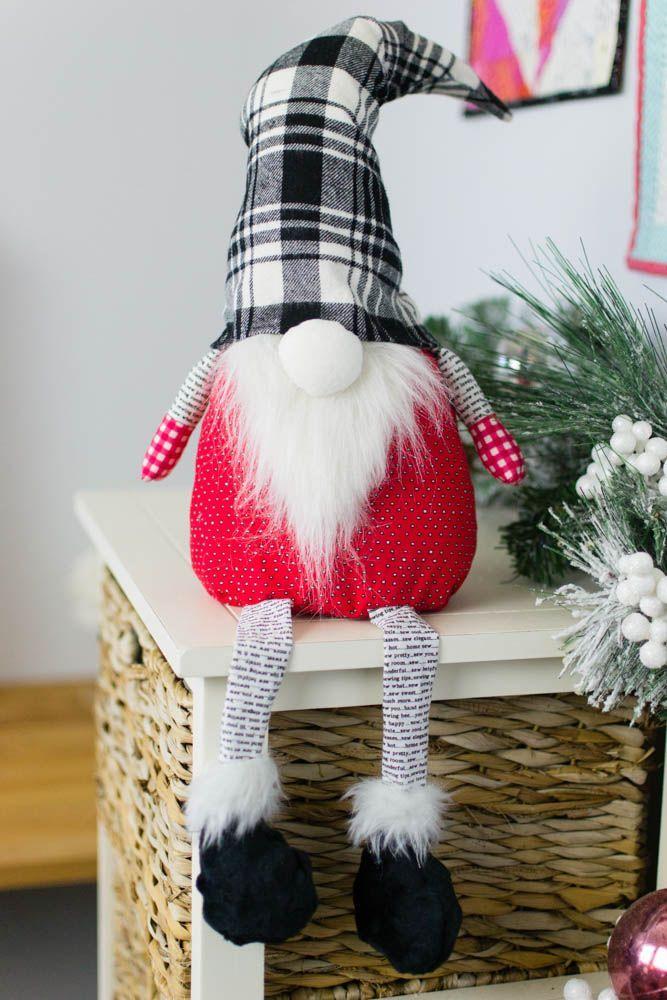 Christmas Gnome free sewing pattern Sewing patterns