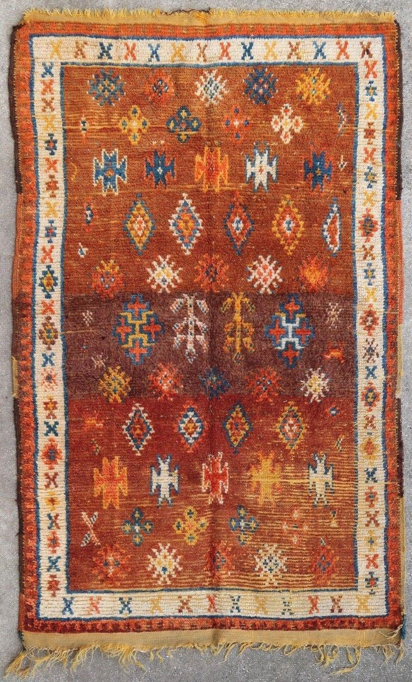 Moroccan Rug Ait Ouaouzguit 1900 Christian Doux Rugs On Carpet Moroccan Rug Rugs