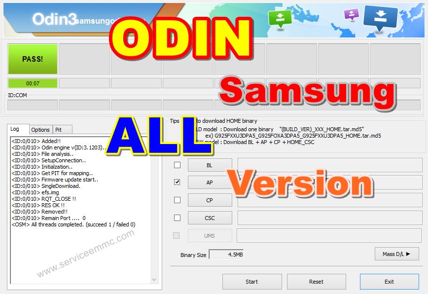 Odin Samsung Update 2018