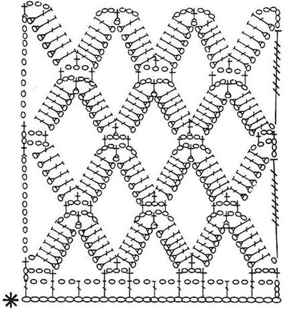 Patron para hacer una blusa a crochet | crochet | Pinterest | Croché ...