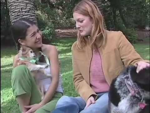 Adopt-a-Pet.com Pet Show  Drew Barrymore