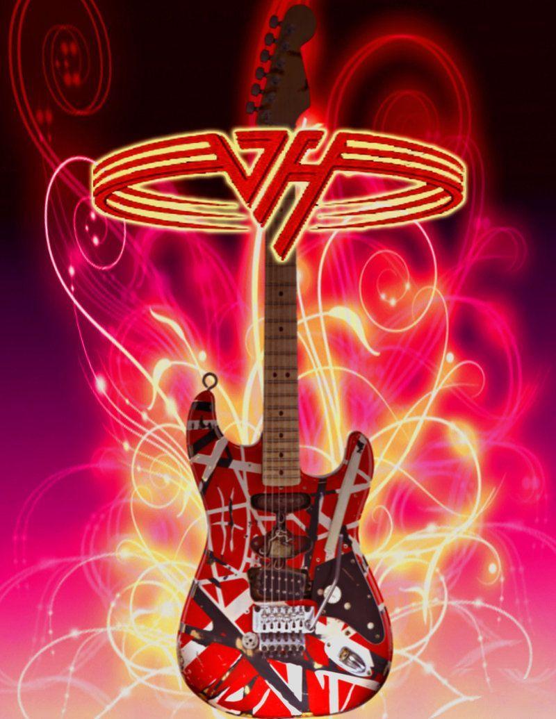 50 Van Halen Frankenstein Wallpapers Download At Wallpaperbro Rock Band Posters Van Halen Best Rock Bands