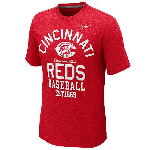 Cincinnati Reds Cooperstown Vintage T-Shirt by Nike - MLB.com Shop ... 3fb92fdde6c