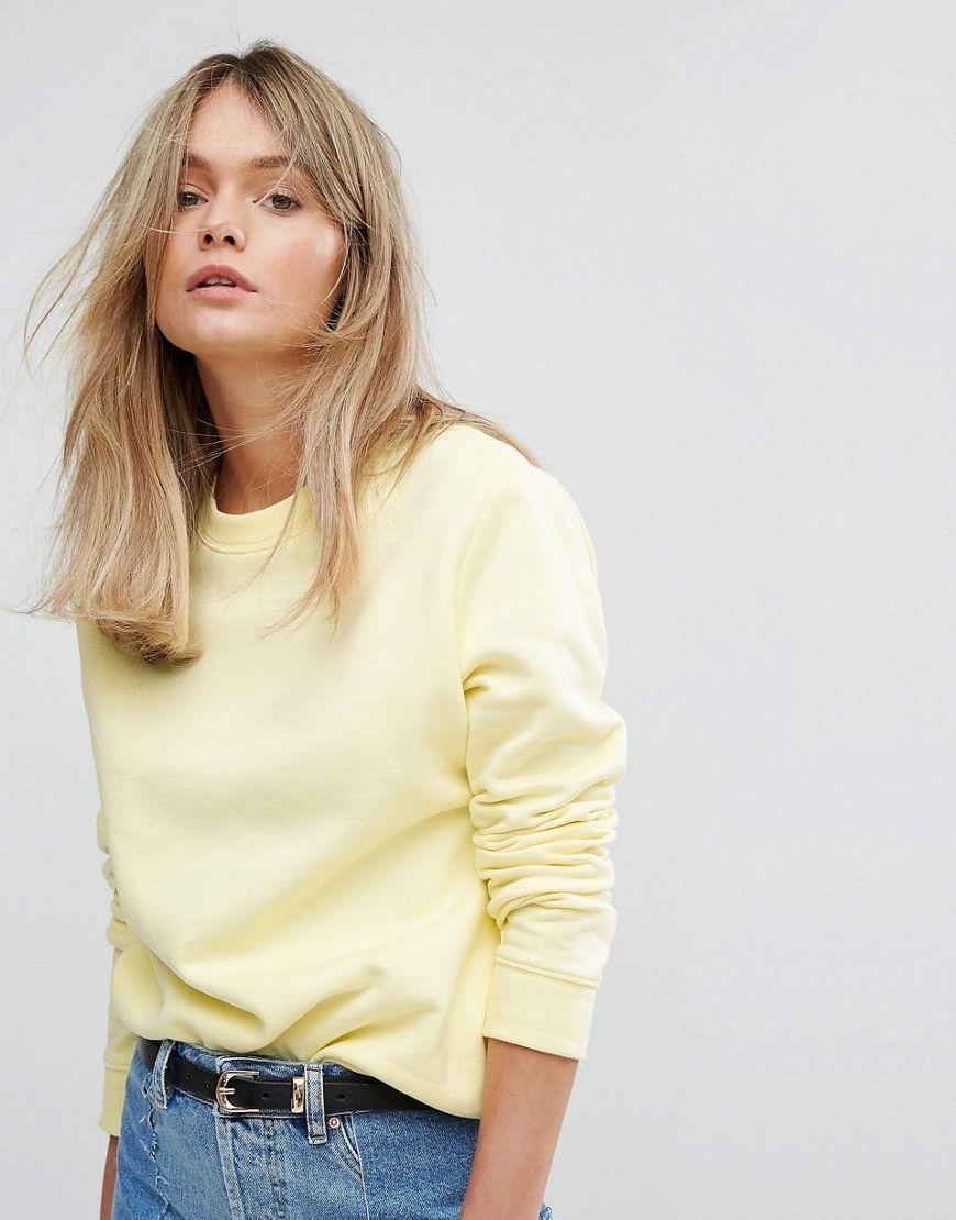 3beb74017 Yellow Sweatshirt
