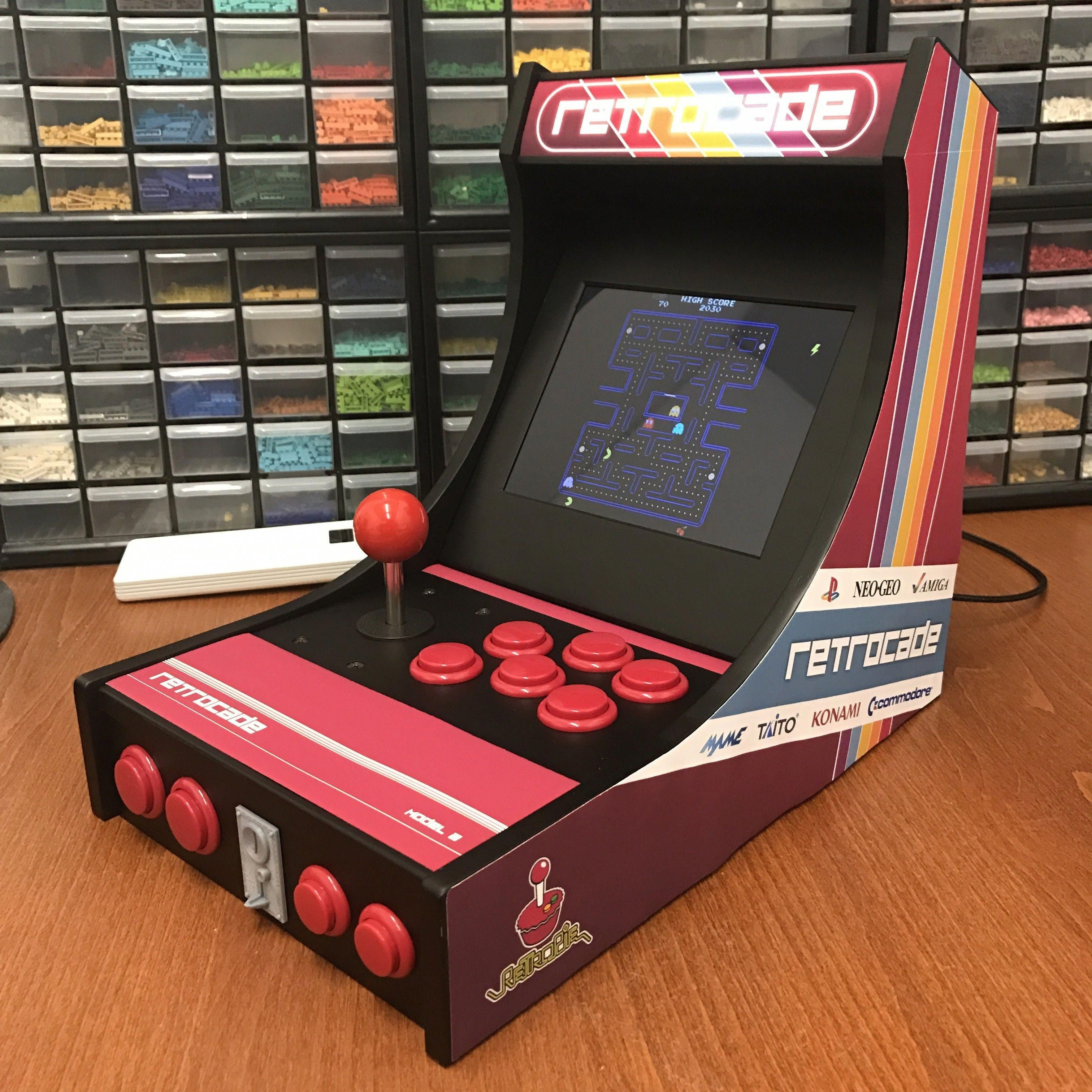 Desktop Arcade Machine : 3D Printed + RetroPie - I always