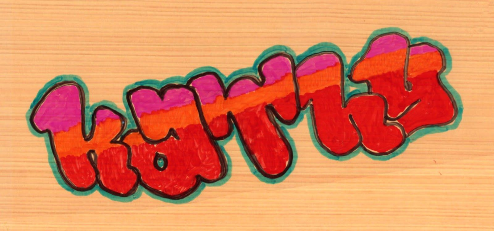 Art Projects For Kids Graffiti Lettering Project