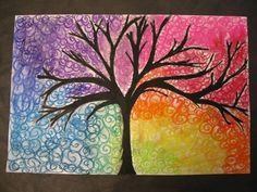 Color Wheel Tree