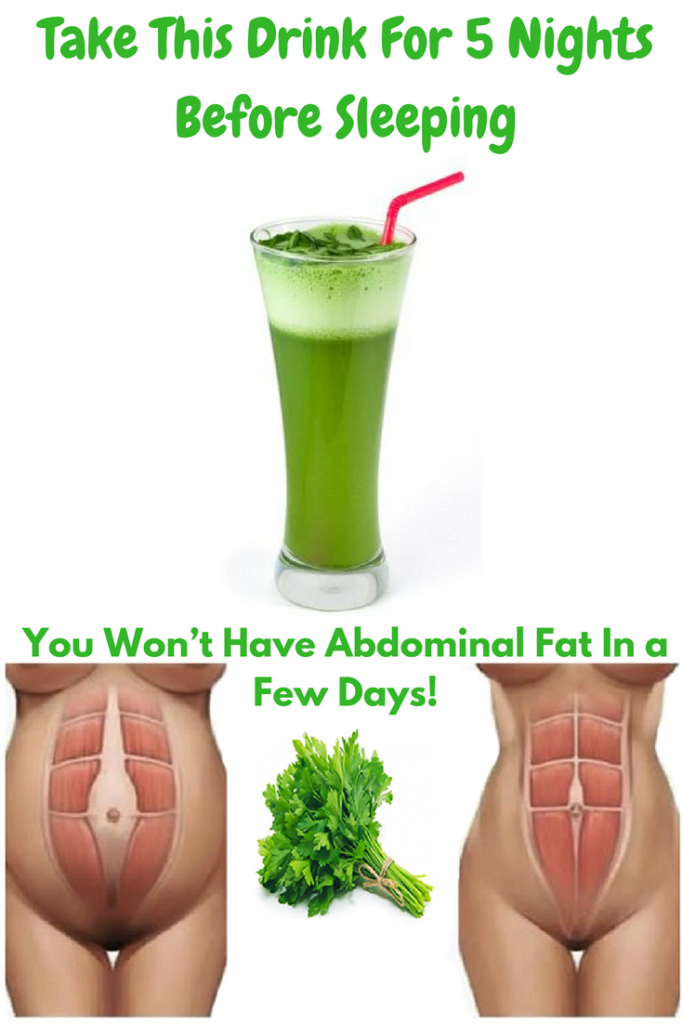 Take This Drink For 5 Nights Before Sleeping and You Won't Have Abdominal Fat In a Few Days!  #beaut...