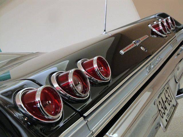 1965 Chevy Impala Tail Lights Chevrolet Impala Chevrolet Impala 1965 Chevy Impala