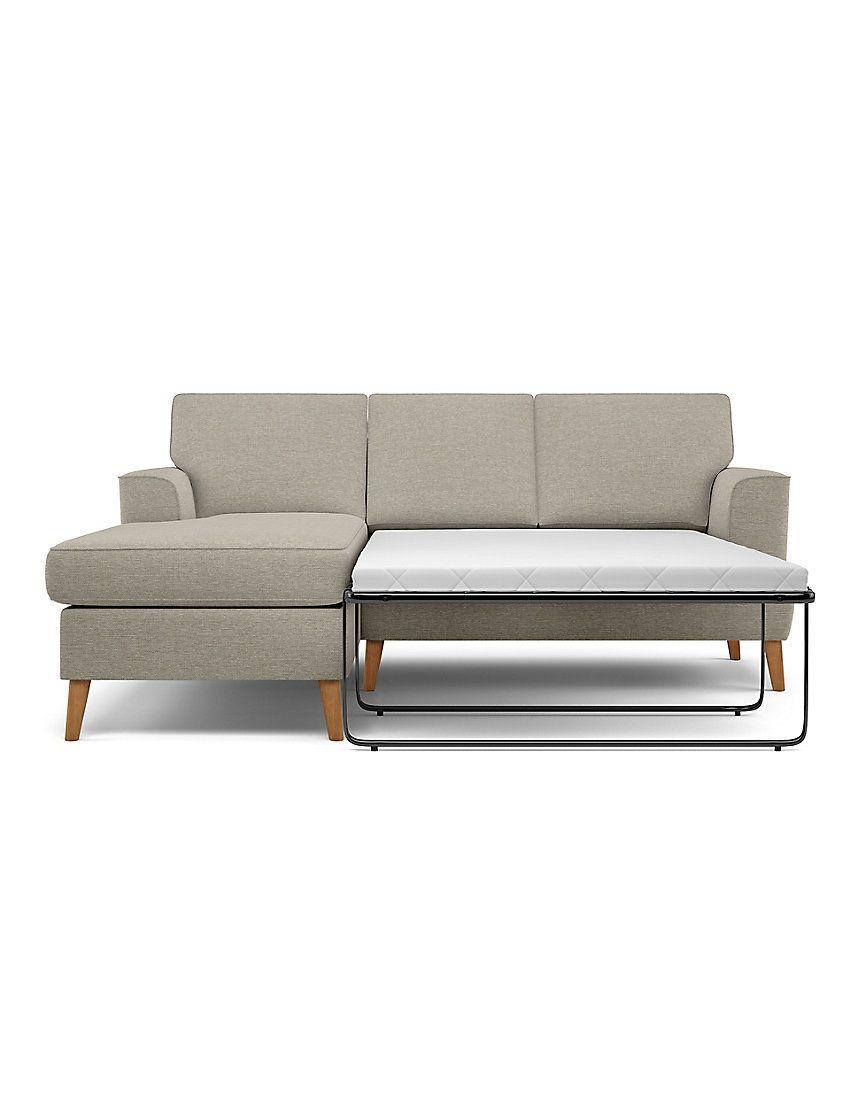 Copenhagen Corner Chaise Storage Sofa Bed (Left-Hand
