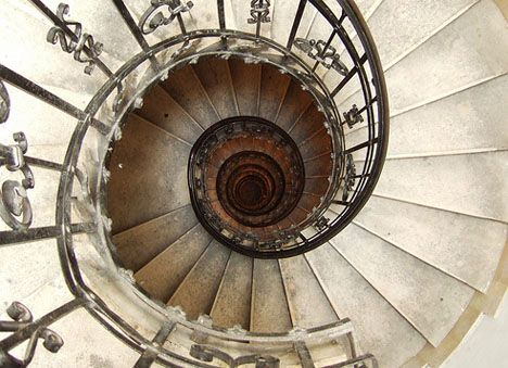 Best 16 Spectacular Spiral Staircases With Images Spiral 640 x 480