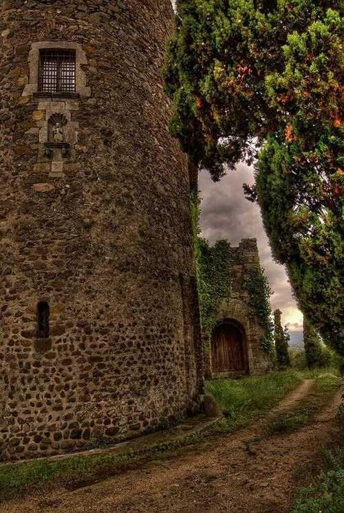 Ancient Castle, Spain  photo via writing