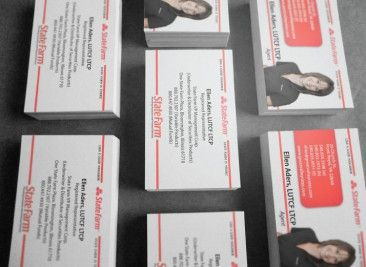 Ellen aders state farm business cards business cards pinterest ellen aders state farm business cards colourmoves Image collections