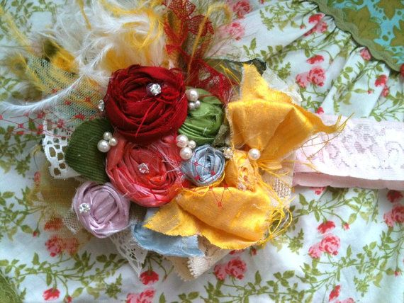 Carnival headband coordinating with Matilda Jane by CozetteCouture, $32.95