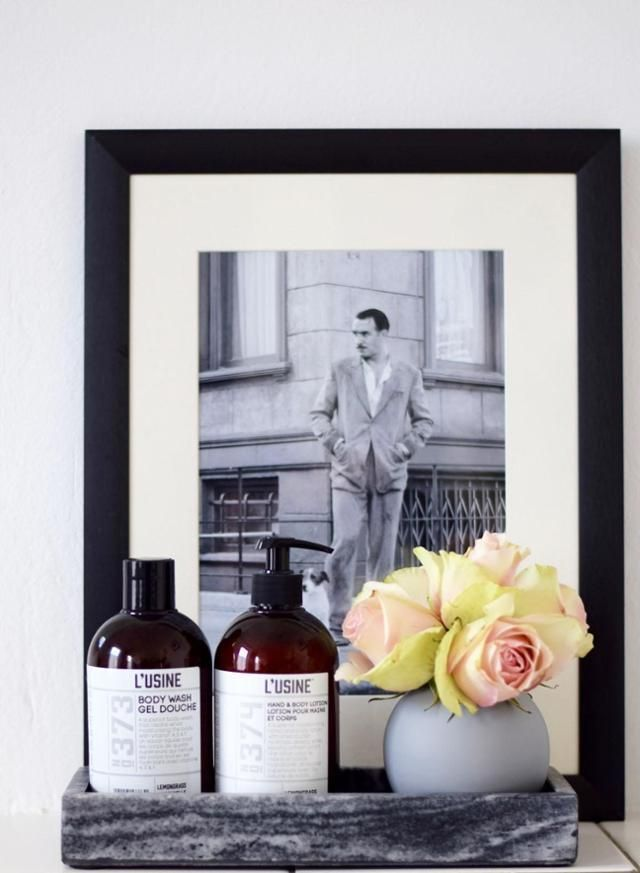 Badezimmer Detail Bathroom Decoration Blumen In