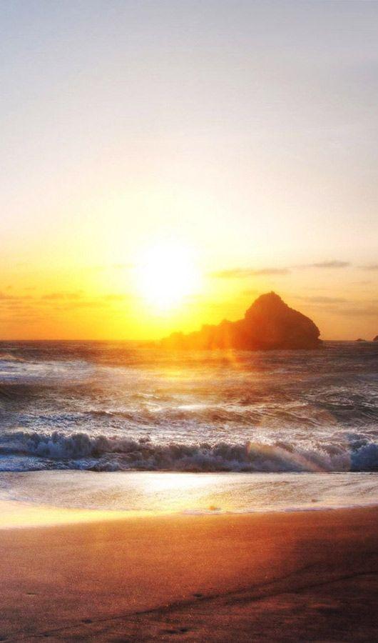 Rocky Shore Beautiful Places Desktop Wallpapers Download Beautif