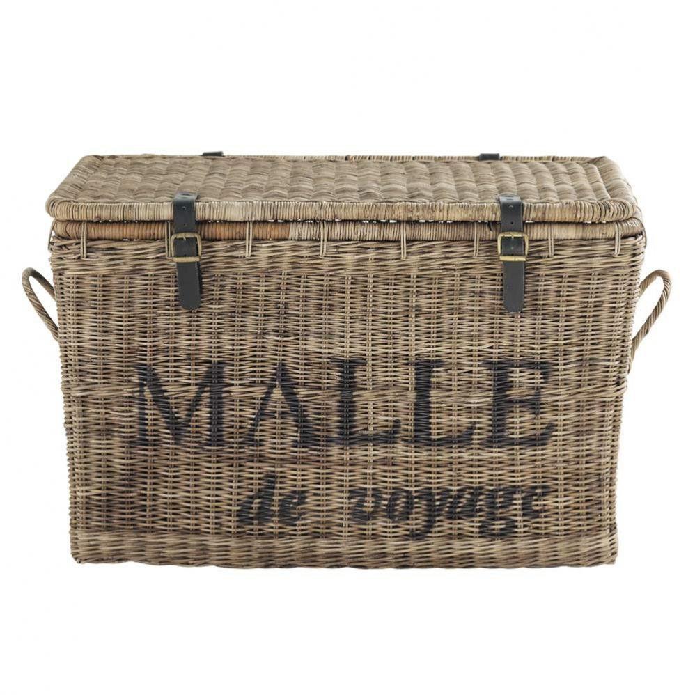 Malle Hampton Malles Pinterest Malle De Voyage Malle Et Voyages - Coffre en osier pas cher pour idees de deco de cuisine