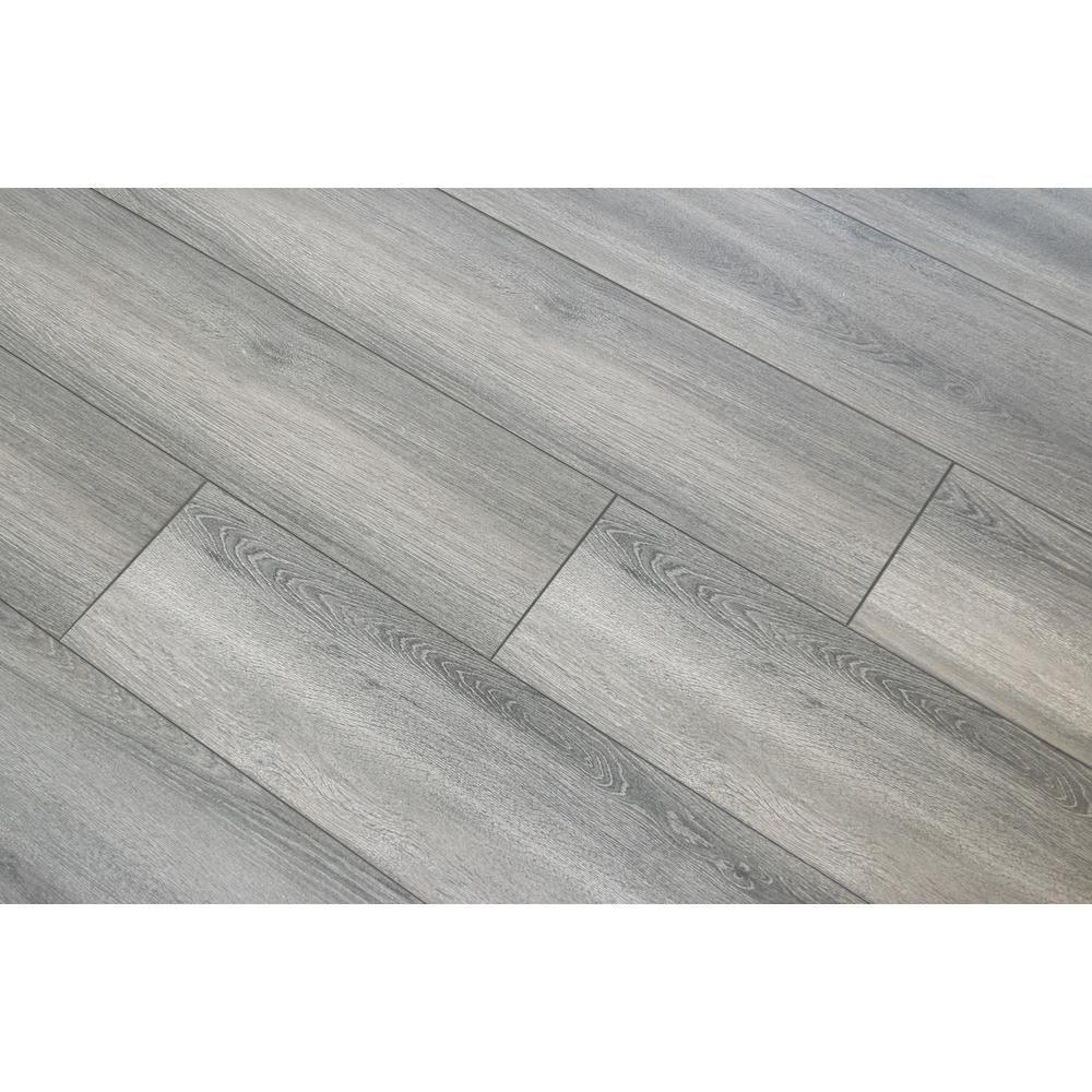 Disher Oak 8mm Thick X 8 03 In Wide X 47 64 In Length Laminate Flooring 21 26 Sq Ft Case In 2020 Faux Wood Flooring Grey Laminate Flooring Grey Laminate