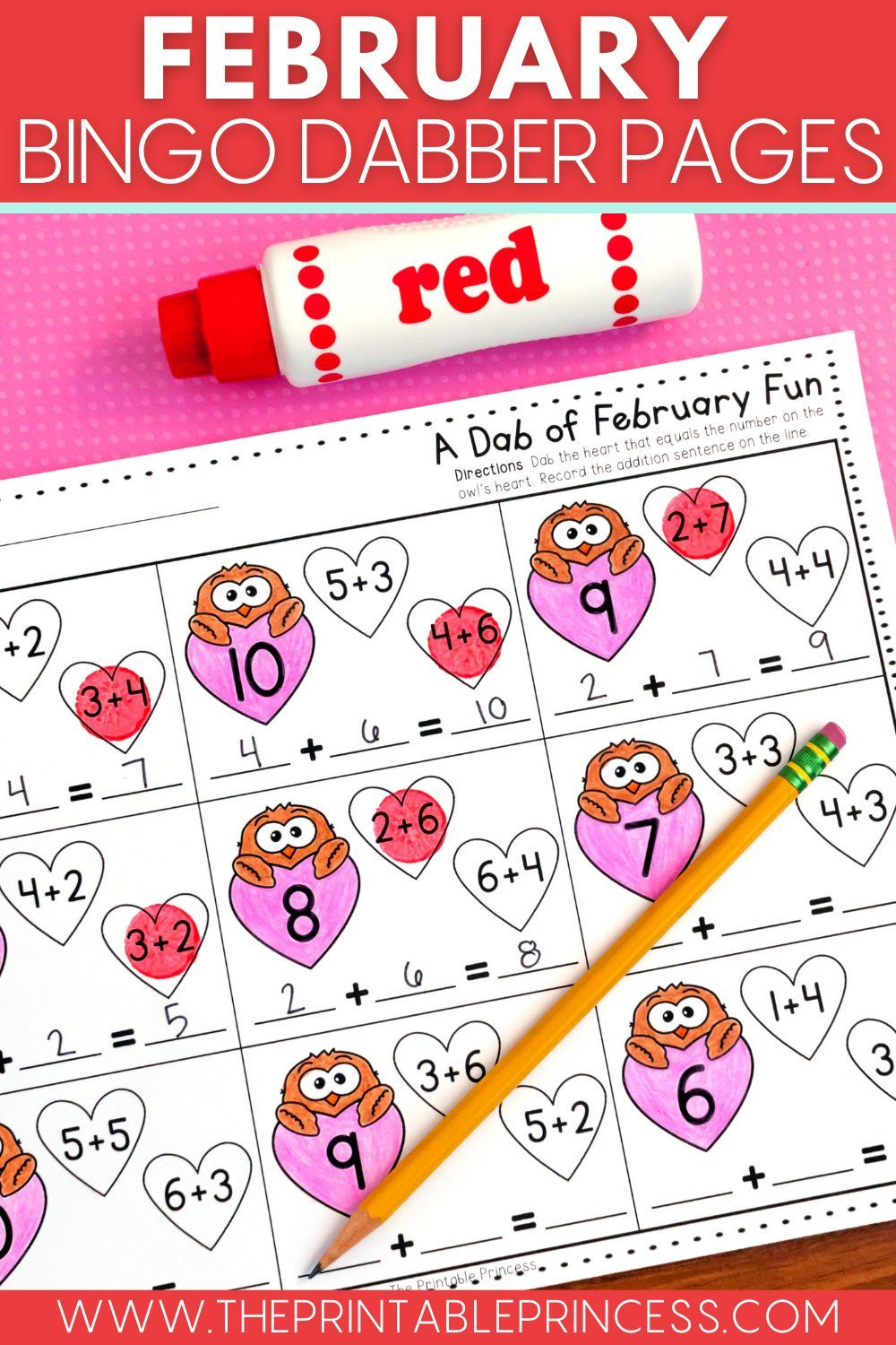 February No Prep Pages Literacy And Math Activities For Kindergarten In 2021 Kindergarten Math Activities Kindergarten Activities Math Activities [ 1500 x 1000 Pixel ]