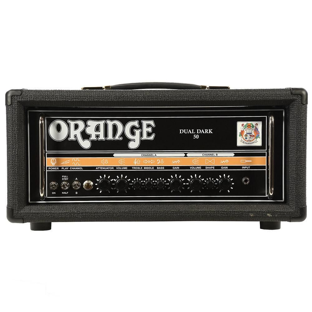 Orange Dd50h Dual Dark 50 25w Class A B Head W Attenuator Dream 25 Amplifier