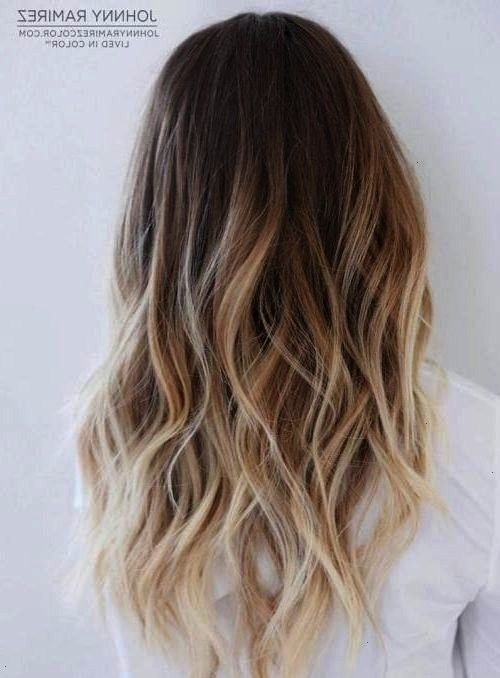Hair Color Ideas for Brunettes in 2019 The French hair coloring technique Balayage These 35 balayage hair color ideas for brunettes in 2019 allow to achieve a more n...