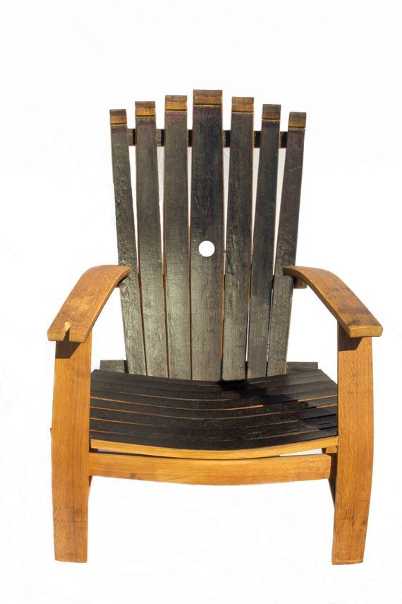 barrel stave adirondack chair plans fairfield prices handcrafted reclaimed wine 7 furniture