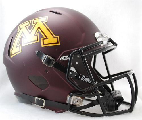 Minnesota Golden Gophers Full Size Riddell Speed Football Helmet Football Helmets College Football Helmets Minnesota Golden Gophers