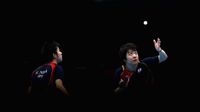 Seiya Kishikawa And Koki Niwa Of Japan Compete In Men S Team Table Tennis Seiya Kishikawa And Koki Niwa Of Japan Compete Paralympics Olympic Games Team Table