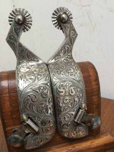 Fleming Spurs for Sale - For more information click on image or see ad # 30500 on www.RanchWorldAds.com