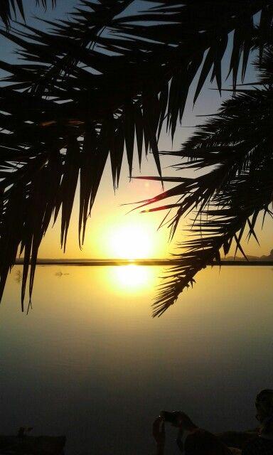 أجمل غروب الشمس فى جزيرة فطناس بسيوة Riviera Maya Sunset Celestial