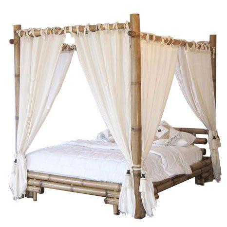 What Im Going To Do With My New Bamboo Four Poster Bed Four