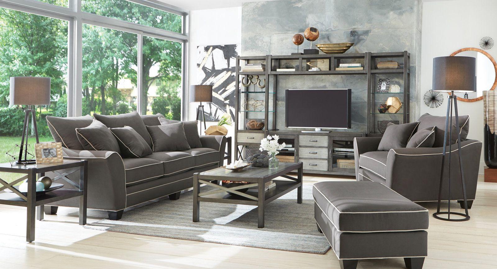 Best Dillon Sofa Slate Interior Sliding French Doors Slate 640 x 480