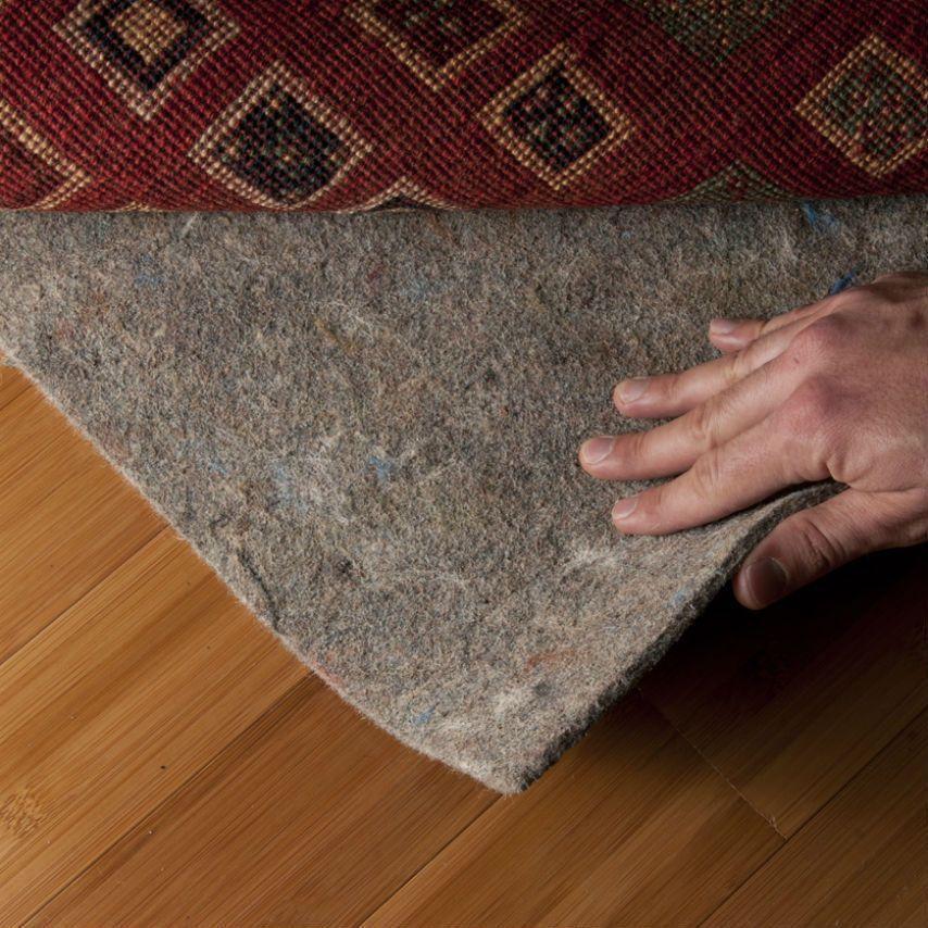 Details About Eco Safe 100 Felt Rug Pad Rectangle Sizes 3 8