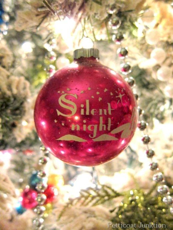Shiny Bright Christmas Ornament, Petticoat Junktion