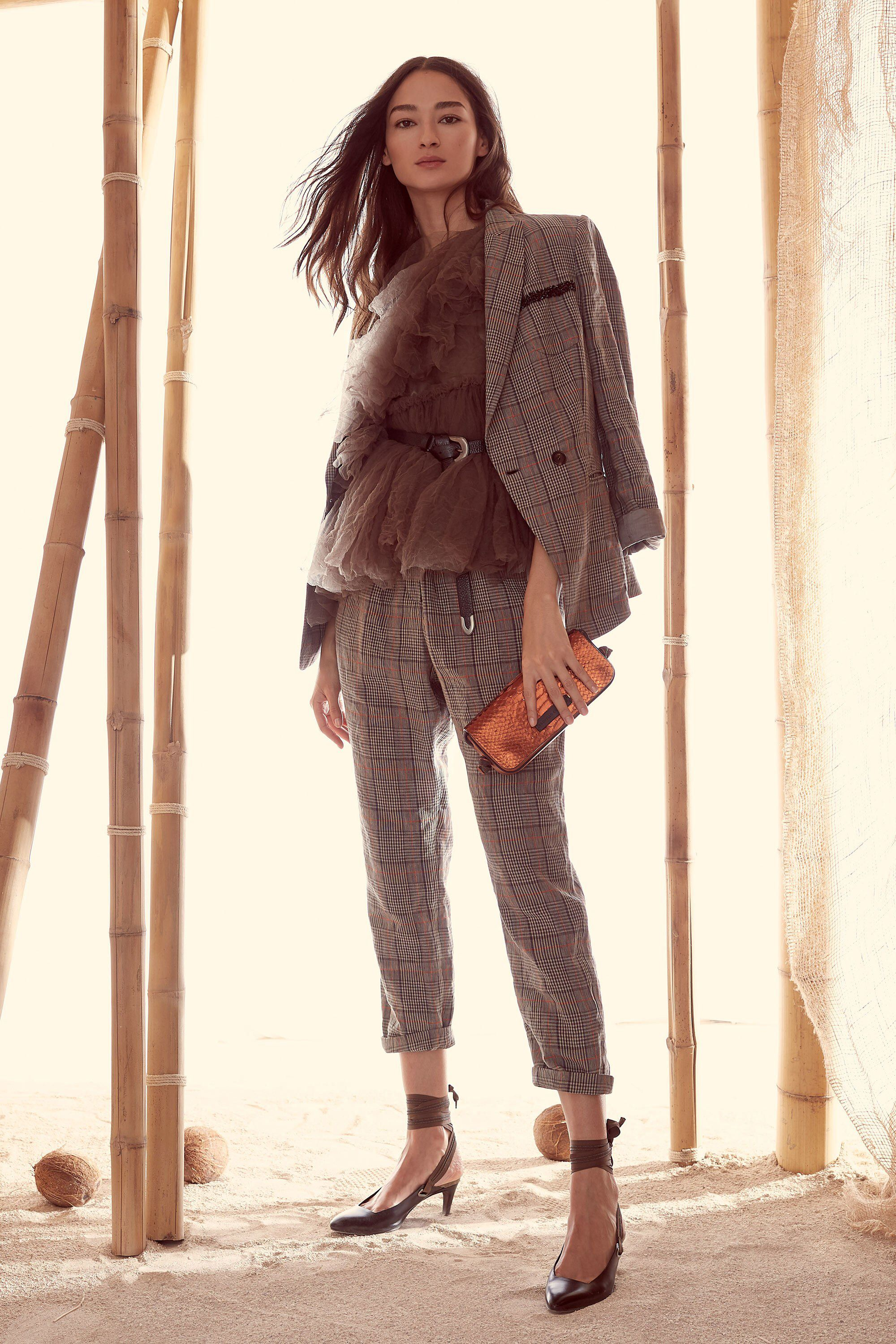 Brunello Cucinelli Spring 2018 Ready-to-Wear Fashion Show Collection ... ae897383f3ec