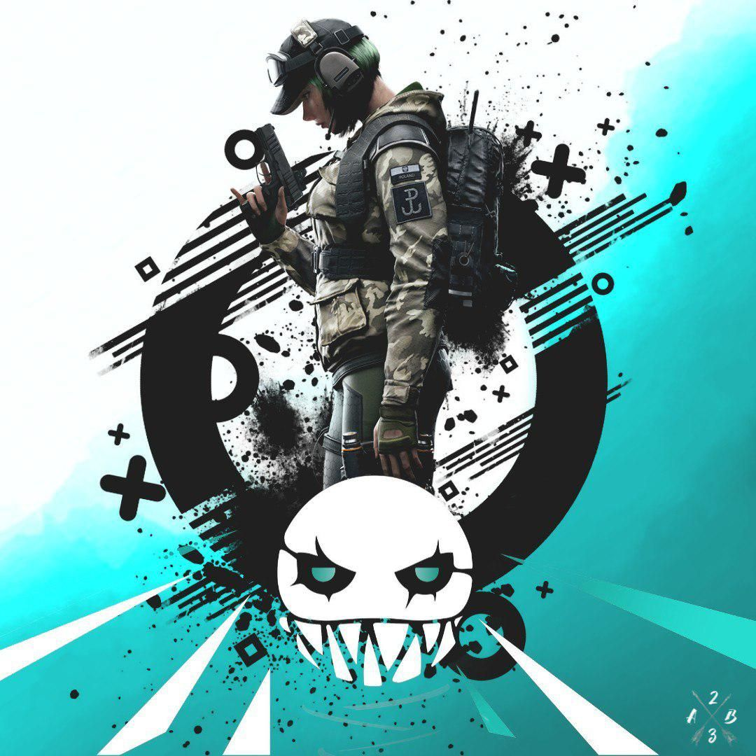 Rainbow Six Siege Ela Bosak By A23b Rainbow Six Siege Art Rainbow Art Rainbow Wallpaper