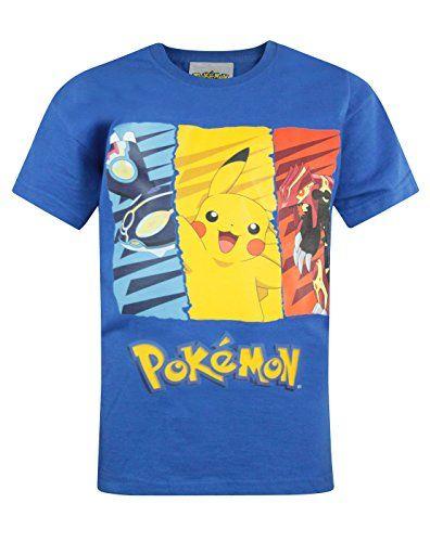 1aeff84a Official Pokemon Kid's T-Shirt (7-8 Years) – Pokemon Tshirt for Men ...