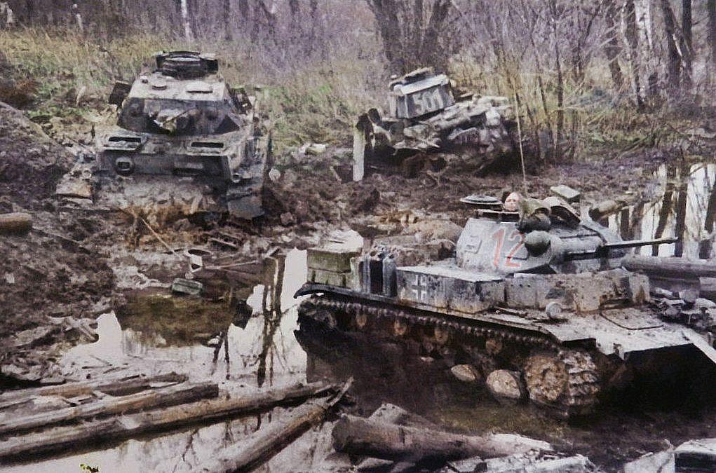 19 pz div/ 20 October 1941 Buchlovka river