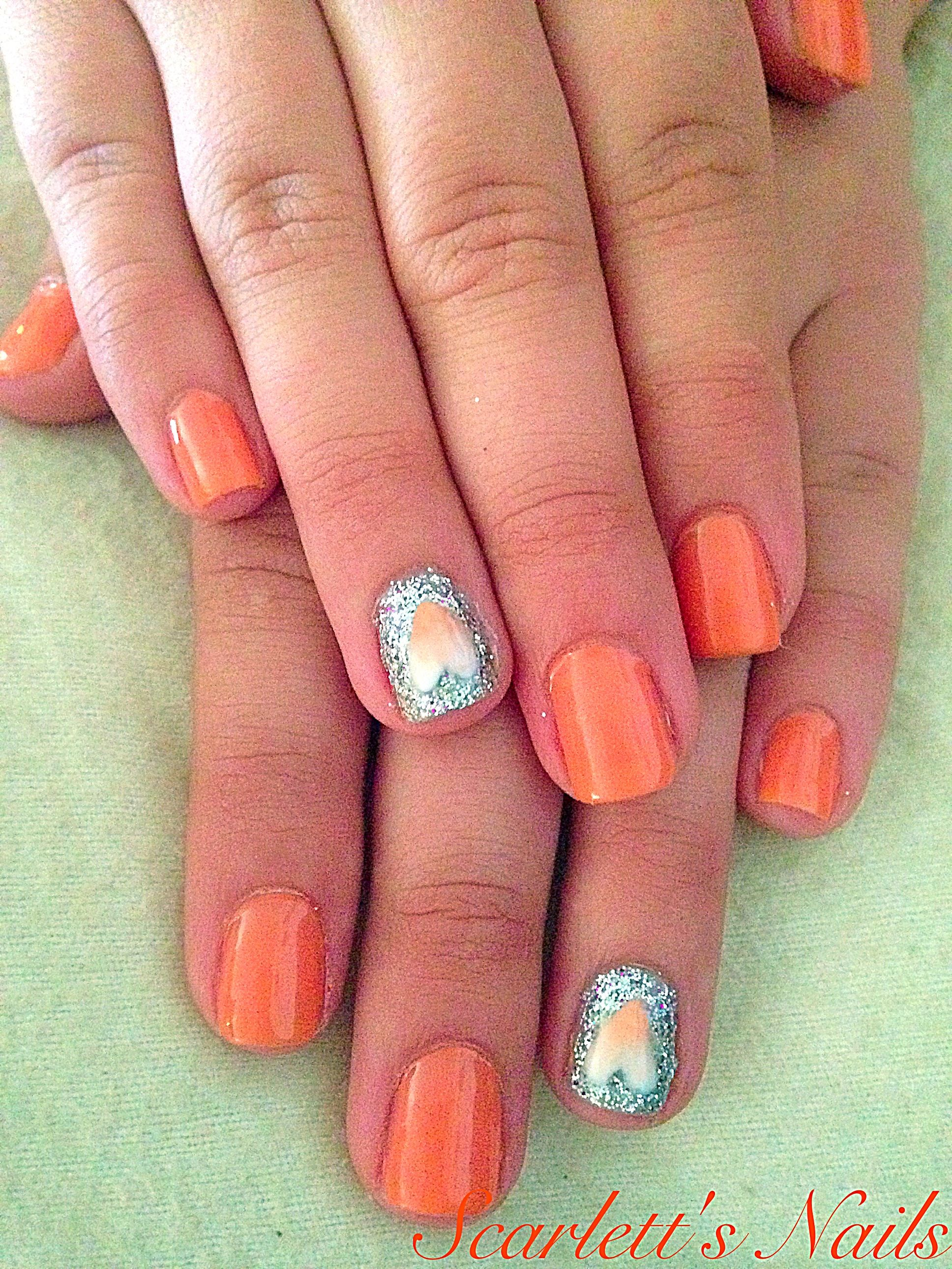 Pin by Ruth on Nails   Sheer nails, Ombre nails, Cute