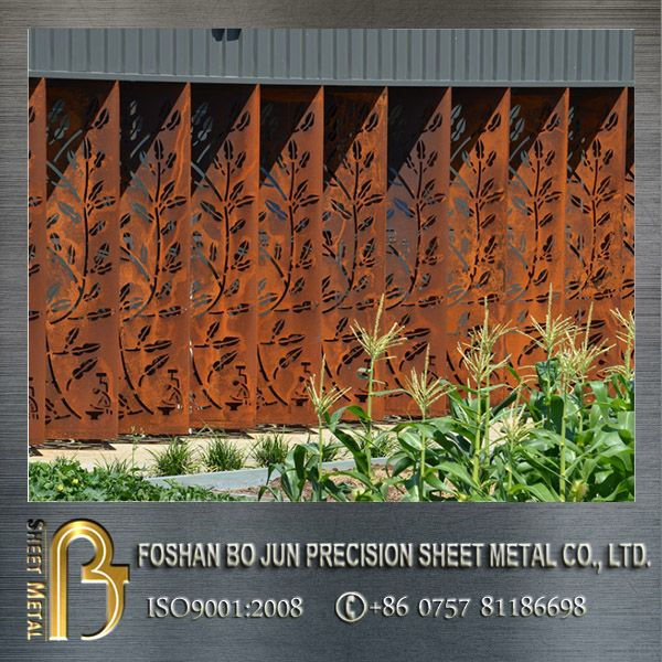Metal Privacy Screen outdoor decorative screens decorative metal panels exterior steel