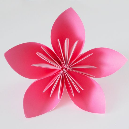 How to make origami flowers origami flower and simple origami how to make origami flowers mightylinksfo