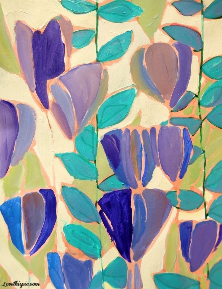 artistic painting  lulu de kwiatkowski